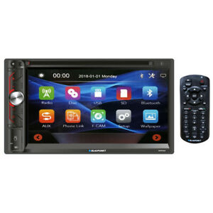"""BLAUPUNKT NAPA65 Blaupunkt Double Din 6.9"""" Touch Screen Bluetooth DVD Mirror ..."""