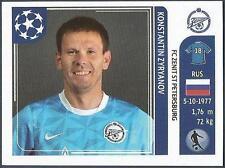 PANINI UEFA CHAMPIONS LEAGUE 2011-12- #455-ZENIT ST PETERSBURG-K ZYRYANOV