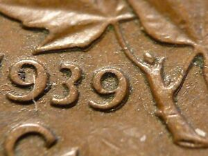 1939 cent, Zoell R62d, Doubled 9, decent condition