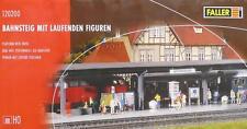 Faller 120200 H0 - Bahnsteig mit laufenden Figuren NEU & OvP