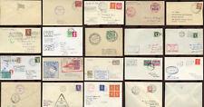 MARITIME NAMED SHIPS ENVELOPES + Postmarks ..Signed ..Labels etc ..EACH PRICED