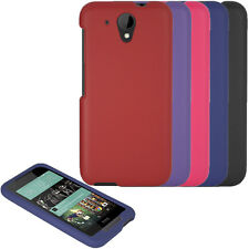 HTC Desire 520 Case, Hard Rubberized Snap On Cover Case