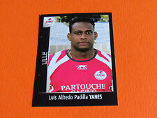 N°155 YANES LILLE LOSC DOGUES PANINI FOOT 2008 FOOTBALL 2007-2008