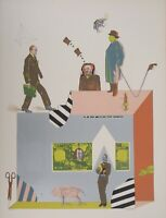 Antonio SEGUI : Les plus belles pages - LITHOGRAPHIE originale signée, 1970