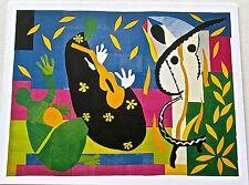 Henri Matisse Poster of  1952 Tristesse du Roi Verve 35-36 1958 13x10