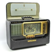 Zenith Collectible Tube Radios For Sale Ebay. Vintage Zenith Trans Oceanic Wavemag Portable Tube Radio Display Only. Wiring. Zenith Tube Radio Schematics 5h40 At Scoala.co