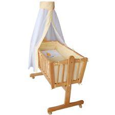 Berceau bébé Lit bébé en bois nacelle lit d'appoint Colori literi jaune Lit bébé