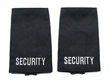 Epaulette Security Epaulette Slider Sold Pair Dark Navy Blue  Epaulettes R1623