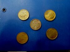 GREECE COIN LOT OF 50 LEPTA  #T2114