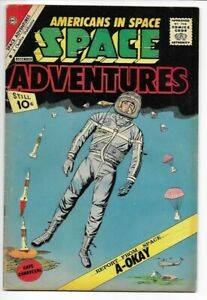 1962 Charlton SPACE ADVENTURES #43 F/VF 7.0