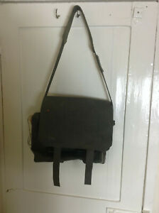 Nato Military surplus haversack pack PVC rubber shoulder bag #85