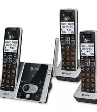 At&T Cl82313 Dect 6.0 Cordless Expandable 3-Handset Phone Id Answering System