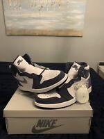 Nike Air Jordan 1 Retro High Midnight Navy White Sz 10.5 Dunk Sb Low XI IV