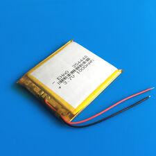 1000mAh 3.7V LiPo Polymer Battery for MP5 PSP Recorder GPS Camera Speaker 354448