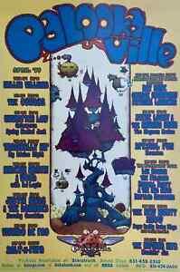 Tragically Hip Concert Poster Palookaville Santa Cruz 1999 MHP-63