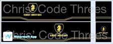 Code 3 Adhesive Vinyl Trailer Decal - Knight Rider - 1/50 1/76 1/148
