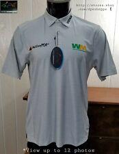 NEW Greg Norman TECH -Charley Hoffman Waste Management- Golf Tour Polo Shirt M