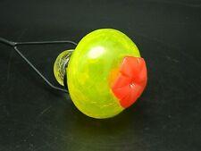 "6 Bird Splender Hummingbird Feeder Nectar 30"" Stake Yellow Garden Glass New"
