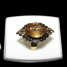 Ethnic Indian Gold plated Adjustable Ring Traditional Bollywood Jewelry SH 20