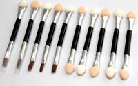 4 10 20x Eye Shadow Applicators Double End Sponge Foam Eyeliner Brush Disposable