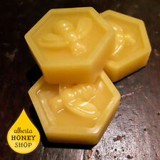 Bulk Beeswax - All-Natural Canadian Small Hexagon Block 14 grams / 0.49 ounce