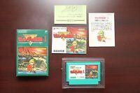 Famicom The Legend of Zelda 1 boxed Japan FC game US seller
