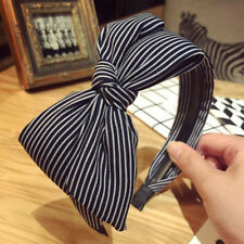 Women Girls Bow Knot Headband Twist Hairband Headwear Hair Band Chic Hoop