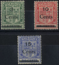 Multiple George V (1910-1936) Mauritian Stamps