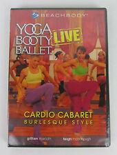 NEW Beachbody Yoga Booty Ballet LIVE Cardio Cabaret Burlesque Style (DVD, 2005)