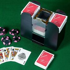 6 Deck Automatic Card Shuffler Poker Cards Shuffling Machine Casino Playing Us