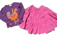 ad LEMON LOVES LIME Rooster Carousel Tee & MINI BODEN Gypsy Skirt 4 5