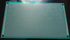 1pc Double sided perf board PCB - Through plated holes 9x15cm 90x150mm