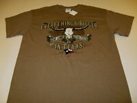 Everything's Bigger In TEXAS - The LONE STAR STATE T-Shirt New! NWT Adult MEDIUM