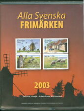 SWEDEN 2003 OFFICIAL YEARSET