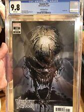 Venom #21 CGC 9.8 🔥 Clayton Crain Skull Variant 🔥 Venom Island Part 1 L@@K!
