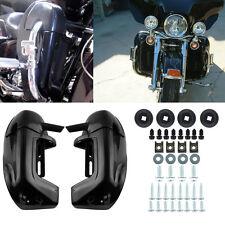Black ABS Lower Leg Vented Fairing For Harley Davidson Touring FLHTC FLHRC