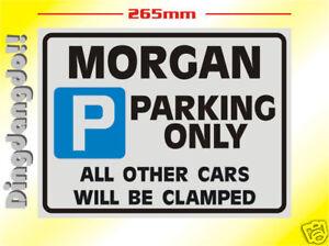 Morgan Parking Sign Novelty Gift