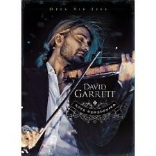 """DAVID GARRETT """"ROCK SYMPHONIES - OPEN AIR..""""BLU RAY NEU"""