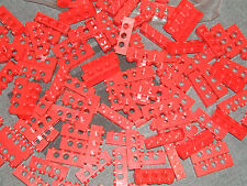 Lego Technic 15 x RED Brick - 1 x 4 pin long with 3 x Axle Hole