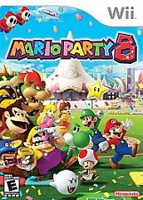 Mario Party 8 (Nintendo Wii, 2007) case and booklet only no game
