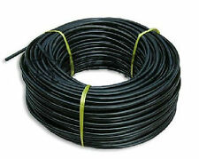 ID 4mm Black PVC tube hose for electric wire,optical fiber protection, 1m #EC2