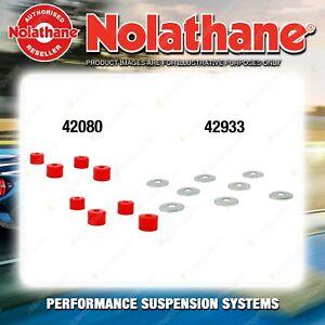 Front Nolathane Suspension Bush Kit for SUZUKI SUPER CARRY SK410 4CYL 1985-1990