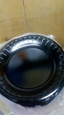 """BARGAIN 125 x Black 9""""  Foam Plates 