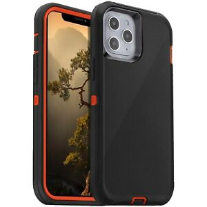 Shockproof Case For iPhone 13 12 11 Pro Max Xr Xs 6 8 7 Plus SE Heavy Duty Cover