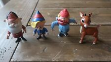 "3"" Rudolph the red nose Reindeer Talking Figures Toy"