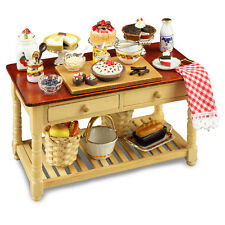 Reutter Porcelain Dolls House 1:12 Scale Cake Working Table 1.727/1