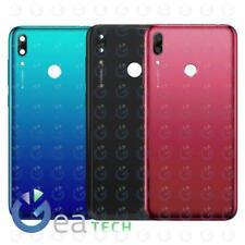 Back Cover Camera Frame Huawei Y7 2019 DUB-LX1 Scocca Posteriore Copri Batteria