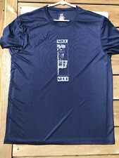 NEW Disc Golf Dri-fit T-Shirt - Blue - XL - Custom Design DG Accessories