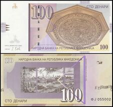 Macedonia 100 Denari, 2013, P-16, UNC