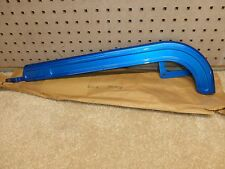 Vintage 1960's - 1970's - NOS - Schwinn Hockey Stick Chainguard - Radiant Blue